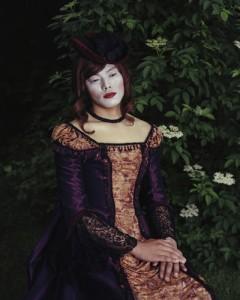 Existing in Costume 11, 2006 C-Print © Chan-Hyo Bae