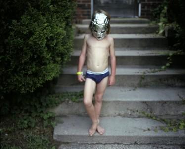 Silver Mask, 2008 Digital C-Print © Betsy Schneider