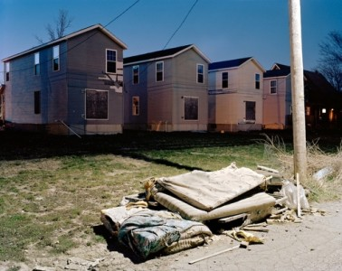 Foreclosed Homes, Detroit, 2009 Archival Pigment Print © Will Steacy