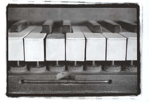A Forgotten Sound, 2009 Gelatin Silver Print © Lacey Kwak-Simon