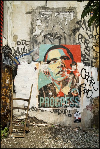 Obama, New York City, 2008 Archival Inkjet Print © David Regal