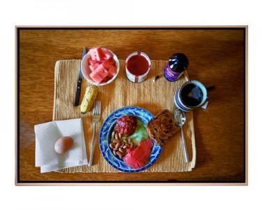 Breakfast Serial 02, 2008 C-Print © Stephanie Kirk