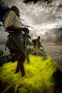 Fishermen, Lake Victoria, 2008 C-Print © Brian Knappenberger