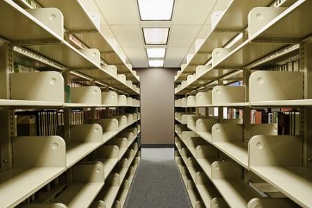 Shelves without Books, 2009 Durst Theta © Alex Leme