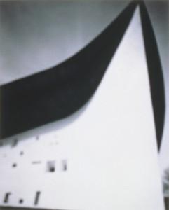 Chapel de Notre Dame du Haut, Le Corbusier , 2009 © Hiroshi Sugimoto
