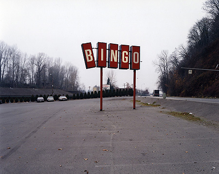 Andrew Miksys, Red Bingo Sign, Renton, WA