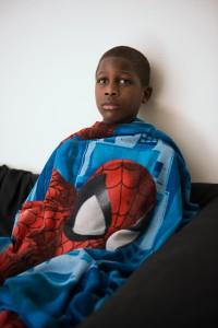 Anna Ream, Rodney and Spiderman Blanket